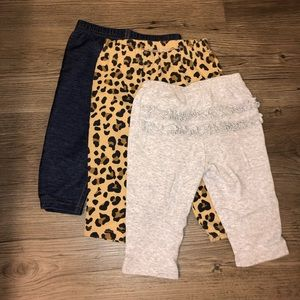 3 pair Carters 6 months pmts